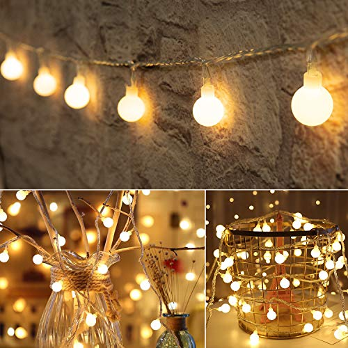 33 Feet 100 Led Mini Globe String Lights, Fairy String Lights...