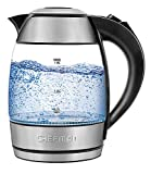 Chefman Electric Glass Kettle, Fast...