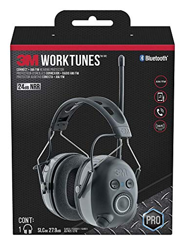 WorkTunes Connect + AM/FM Hearing Protector with Bluetooth Technology, Great Father's Day Gift