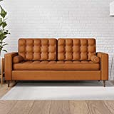 Edenbrook Lynnwood Upholstered Sofa with Square Arms and...