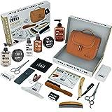 Kit/Set/Coffret d'entretien et de soin pour barbe et rasage avec Soin de...