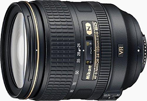 Nikon Obiettivo Nikkor AF-S 24-120 mm f/4G ED VR, Nero (Versione EU) (Ricondizionato)