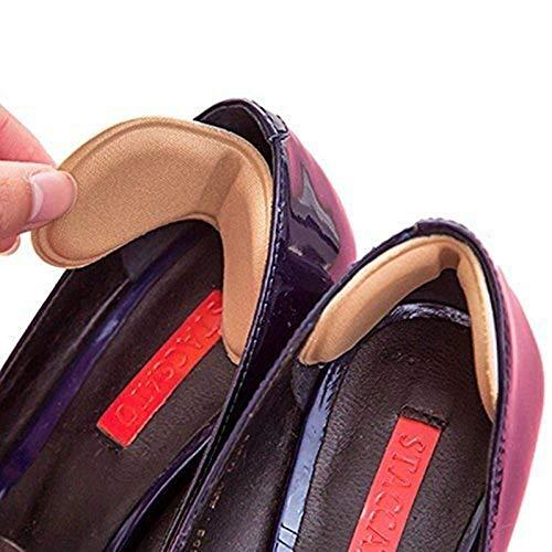Semelles de talon de chaussure, 4 paires de poignées de talons protègent du frottement et du glissement