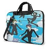 15.6″Durable Hombro Mensajero Bolsa maletín PC Vuelo de South Park Moda Impermeable Ordenador Portátil/portátil/Tablets