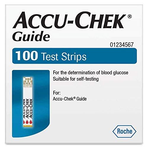 Accu Chek Guide Test Strips 100
