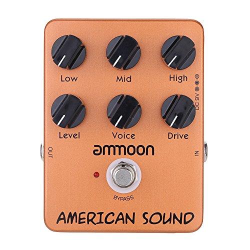 ammoon AP-13 American Sound Amp Simulator Guitar Effect Pedal True Bypass