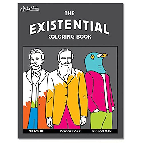 Archie McPhee The Existential Coloring Book