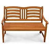 Gartenbank 2-Sitzer Montana Sitzbank aus Holz - 3