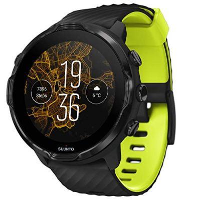 Suunto 7 GPS Sports Smart Watch, Black Lime. Top 21 Smartwatch Brands