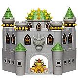 SUPER MARIO Playset Château de Bowser avec Figurine de Bowser, Effets sonores,...