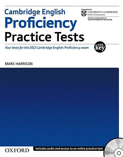 Cambridge English Proficiency (CPE). Practice Tests with Key (Proficiency Practice Tests)