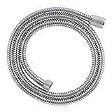 GROHE 28143000 RelexaFlex 59' Metal Longlife Shower Hose, Starlight Chrome