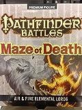 WizKids Pathfinder Battles: Maze of Death-Fire and Air Elemental Lords, Figure