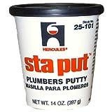 Oatey 25101 Hercules Sta Put 14-Ounce Plumbers Putty