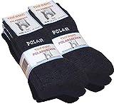 Lot de 6 paires de chaussettes homme Thermo - tissu éponge - noir/gris anthracite/marine bleu -...
