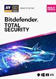 Bitdefender Total Security - 5 Devices | 1 year Subscription | PC/Mac | Activation Code by email