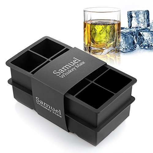 Large Ice Cube Trays (2 inch cubes, 2 pack)