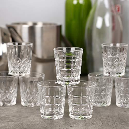 Queensway bicchierini da shot di alta qualit, 12x Marina Shot Glasses