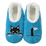 Snoozies Pairables Womens Slippers - House Slippers - Peek-A-Boo - Medium
