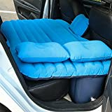 NEX Car Travel Air Mattress Air Cushion Bed Multifunctional Mobile Inflatable Bed Cushion for Sleep Rest and Intimate Motion (Blue)