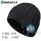 EVERSEE Bonnet Bluetooth Cadeau de Noël - Unisexe Music Bonnet Bluetooth...