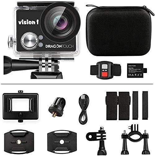 DragonTouch アクションカメラ1080P 16MP 付属品