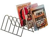 Estantería vinilos | Soporte discos | Almacenamiento para 75 LPs | Soporte folletos...