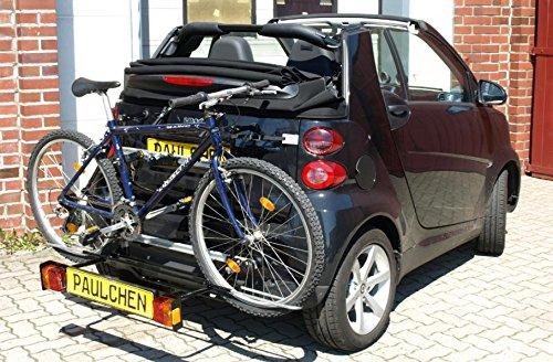 Portabici Comfort due biciclette Smart Fortwo 451Cabrio