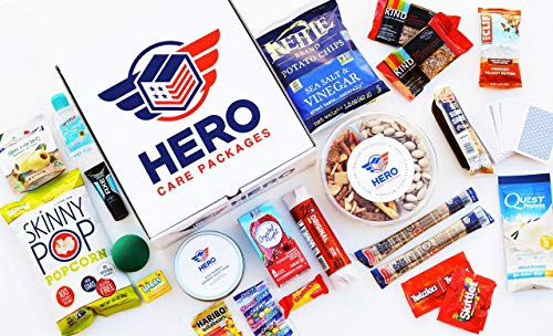 Curated Military Care Package By Hero Care Packages   Personalized Card, Premium Contents, Veteran-Run, APO/FPO Shipping (Army)