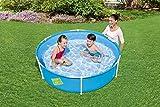 Bestway My First Frame Pool, stabiler und leicht aufbaubarer Kinderpool, 152x152x38 cm - 4