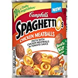 SpaghettiOs Pasta with Chicken Meatballs, 15.6 Ounce (Pack of 12)