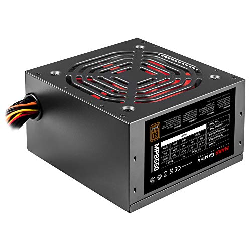 Mars Gaming MPB550, Alimentatore per PC 550W, 80Plus Bronze 230V, Silenzioso