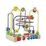 Circuit de Motricite Enfant Boulier Montessori Bois Jeux de Labyrinthe...