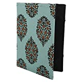 [JC] Cotton/Paper Kindle Case Cover, (fits Kindle Paperwhite, Kindle, and Kindle Touch) (Blue 44)