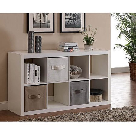 Better Homes and Gardens 8-Cube Organizer,Model: BH14-084-099-02 /Color :White (White)