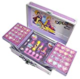 Disney Princess Makeup Train Case, Color Rosa (Markwins 1599037E)