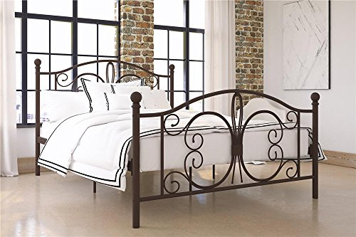 best metal bed frame for heavy person