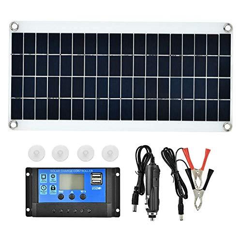 WYZXR Panneau de cellules solaires, Chargeur de Batterie de contrôleur de...