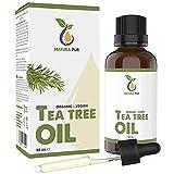 Aceite Arbol del Te BIO 50ml con pipeta - 100% orgánico y...