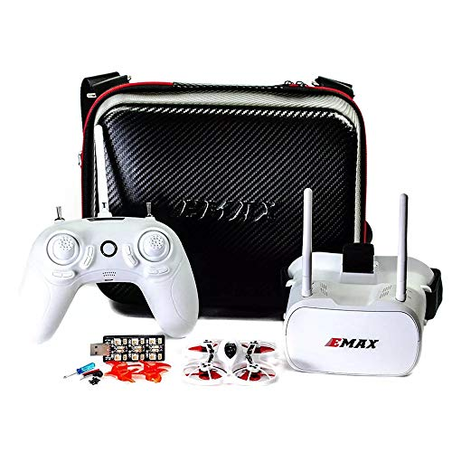 RONSHIN Emax Tinyhawk Indoor FPV Racing Drone BNF RTF F4 4in1 3A 15000KV 37CH 25mW 600TVL VTX 1S RTF...