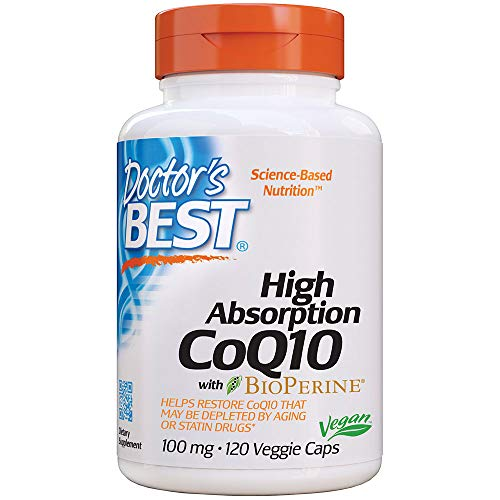 Doctor's Best High Absorption CoQ10 with Bioperine, Heart...