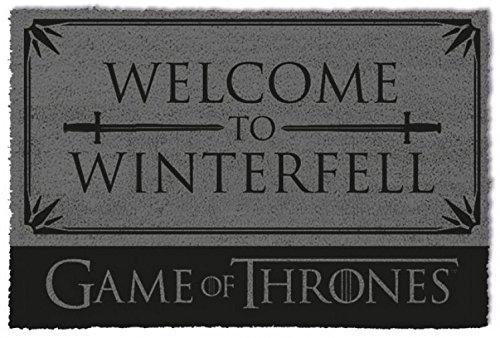 Pyramid International Felpudo Juego de Tronos Welcome to Winterfell, 1