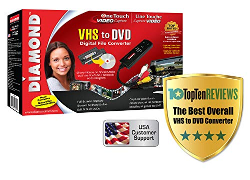 Diamond VC500 USB 2.0 One Touch VHS to...