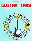 Guitar Tablature Notebook: Guitar Tabs And Chords Free Glossy Cover Design Cream Paper Sheet Size 8.5 X 11 Inch ~ Bass - Tablature # Authentic 108 Pages Fast Print.