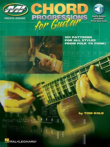 Tom Kolb: Chord Progressions for Guitar. Para Guitarra