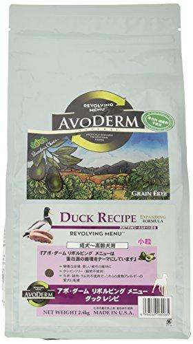 アボ・ダーム (AVODERM) ドッグフード リボルビングメニュー ダックレシピ 2.4kg