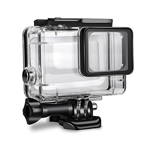 Custodia impermeabile per Gopro Hero 7 nero, custodia protettiva Rotective subacquea subacquea per Go Pro Hero 6 HERO5 2018 Sport Action Camera [versione aggiornata]