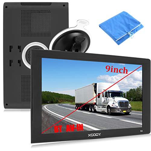9inch Truck GPS Navigation for Car Big Touchscreen...