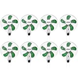 Hydrofarm ACF16 Active Air 16' Wall Mountable Oscillating Hydroponic Fans (8 Pack)