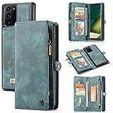UFinetech Magnétique 2 en 1 Portefeuille Coque Samsung Galaxy Note 20 Ultra...